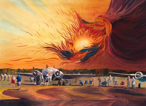Phoenix Rising Art | Michele Tabor Kimbrough