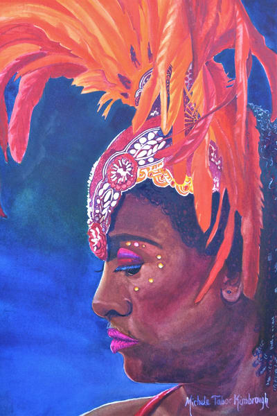 1st Daughter Ada   Cruscian Carnival Series Art | Michele Tabor Kimbrough