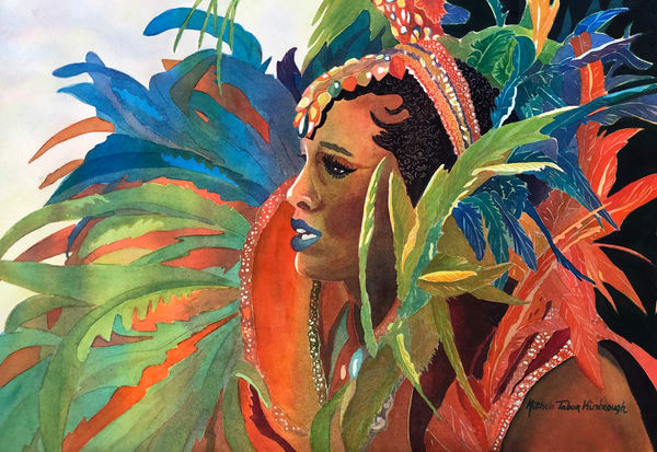 Queen Mary   Crucian Carnival Series Art | Michele Tabor Kimbrough