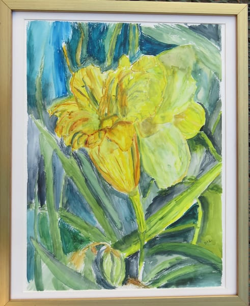 Big Bright Lily Art | Howard Lawrence Fine Art