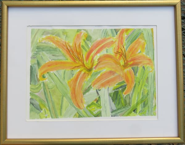 Flaming Lily Art | Howard Lawrence Fine Art