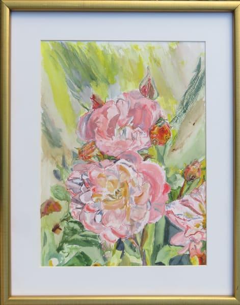 Flaming Roses Art | Howard Lawrence Fine Art