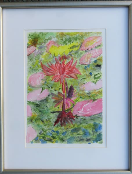 Portrait Of A Waterlily  Art | Howard Lawrence Fine Art