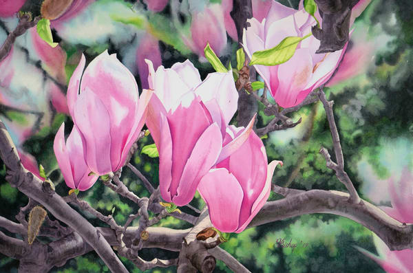 Springtime Art | victoriabishop.art