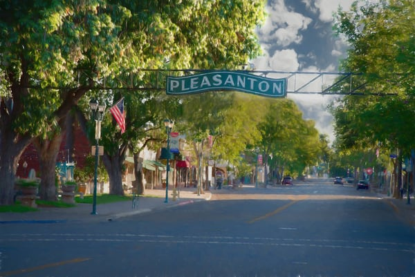 Old Town Pleasanton   Limited Edition Photography Art | Greg Starnes Phtography