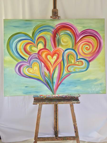 Family Bliss Art | Heartworks Studio Inc