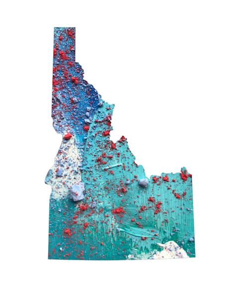 Idaho Art | Carland Cartography