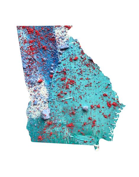 Georgia Art | Carland Cartography