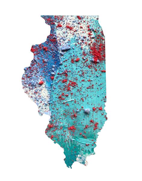 Illinois Art | Carland Cartography