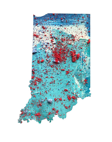 Indiana Art | Carland Cartography