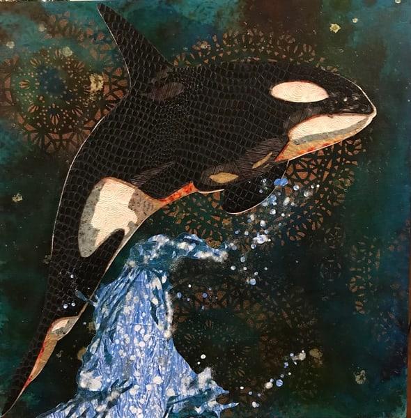 Killer Whale Art   Kristi Abbott Gallery & Studio
