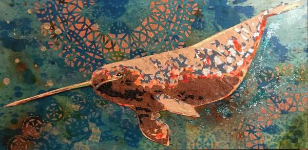 Narwhal  Art   Kristi Abbott Gallery & Studio