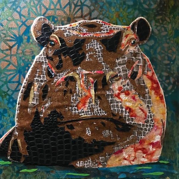 Hippopotamus  Art   Kristi Abbott Gallery & Studio