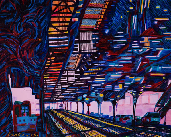 Attack Of The 215 Th St Nyc Subway Station   lencicio