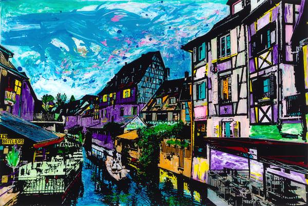 My French Dream | Places Art | JD Shultz Art
