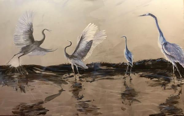Dance Of Wetlands 30 Art | Nosco Fine Art