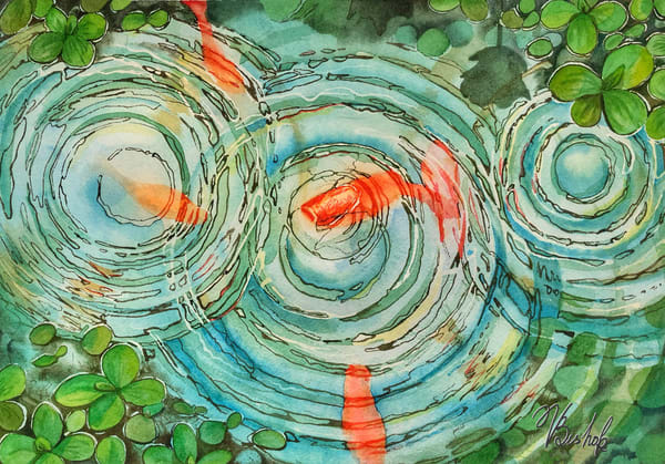 Ripples  Art | victoriabishop.art