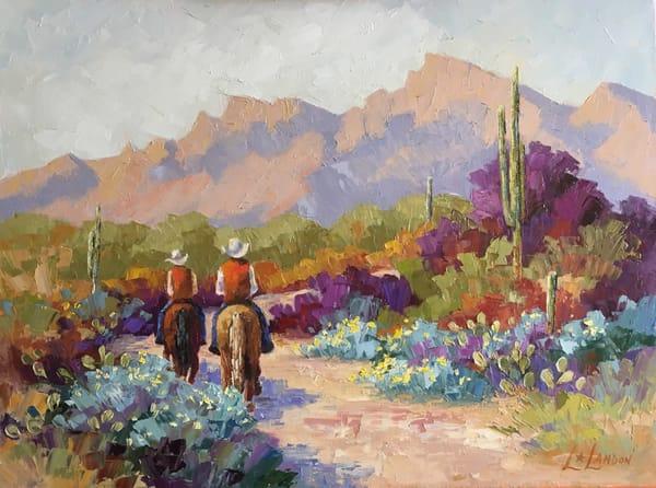 Sonoran Trailride Art | Linda Star Landon Fine Art