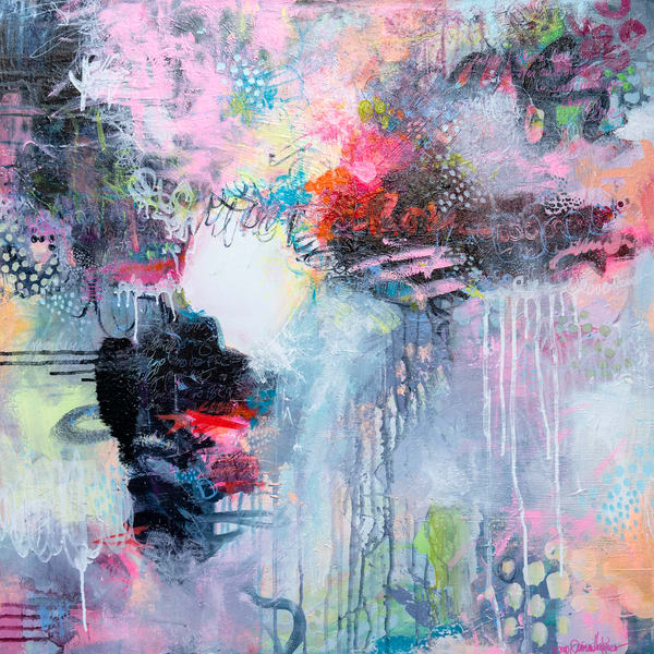 And I Will Love With My Whole Heart Art | Jessica Hughes Fine Art