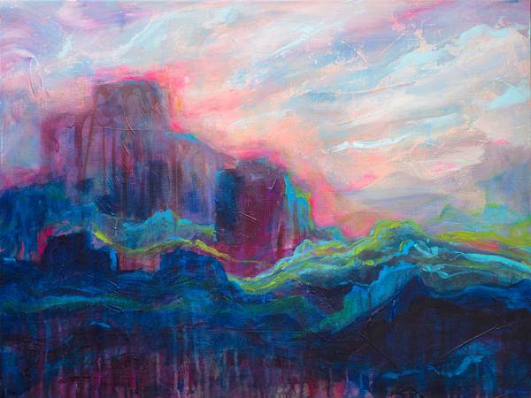 When The Light Returns Art | Jessica Hughes Fine Art