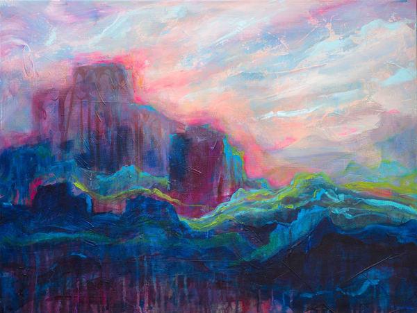 When The Light Returns, Original Painting Art   Jessica Hughes Fine Art