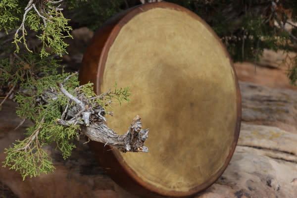 Authentic Native American Elk Drum