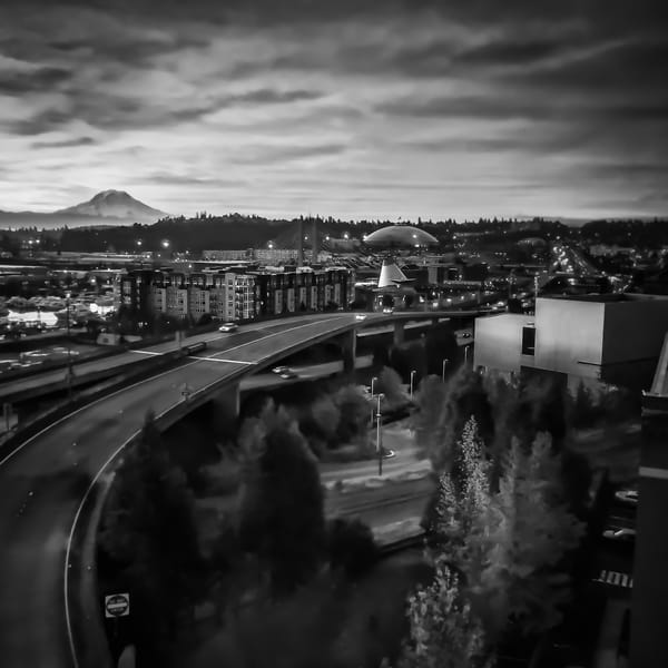 Tacoma Sunrise Photography Art | Troy Mason Photography