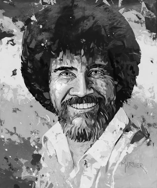 Bob Ross, Joy of Painting, Marnier Art