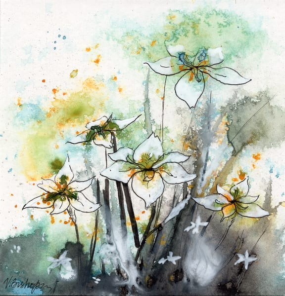 Wild Flowers Art | victoriabishop.art