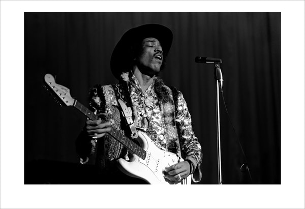 Jimi hendrix, Houston 1968