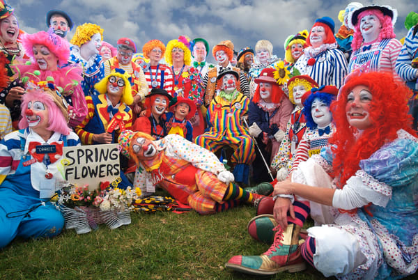 The Clowns Are All Here Art | Mark Stall IMAGES