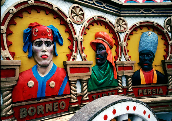 Circus Wagon Faces Art | Mark Stall IMAGES