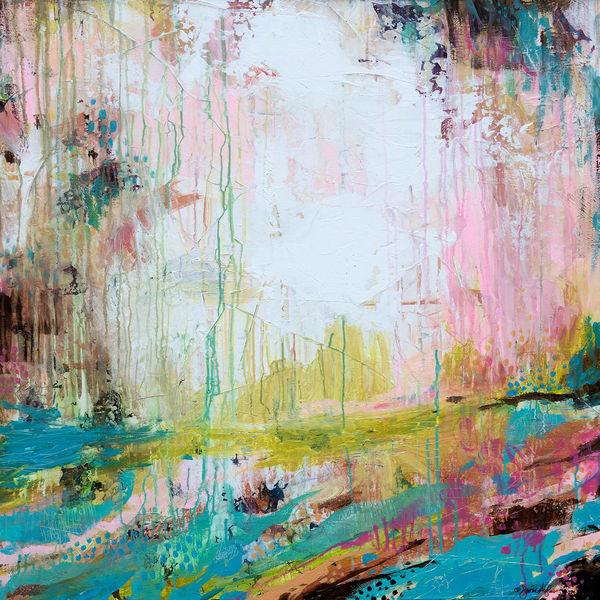 Just Rise, Original Painting Art   Jessica Hughes Fine Art