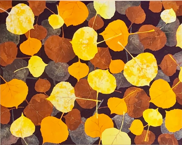 Shimmering Aspen Leaves Art | Mickey La Fave