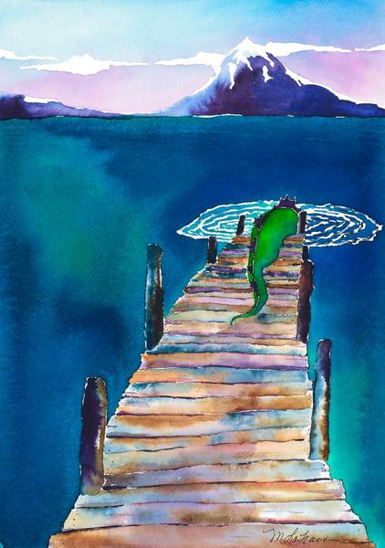 Slippen Away Art | Mickey La Fave