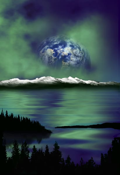 Once In A Blue Moon Art | Art from the Soul