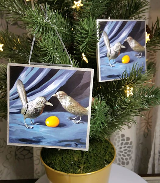 Ornament   Grackles And Lemon | smalljoysstudio