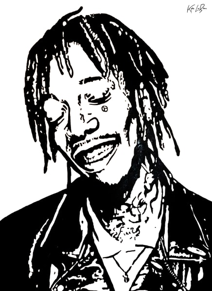 Wiz Khalifa Art | GSL ART