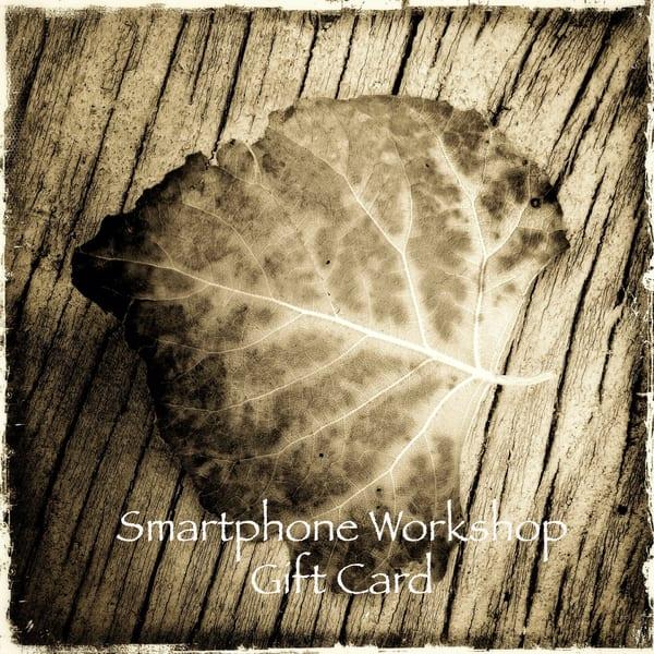 Smartphone Workshop Gift Card | Casey Chinn Photography LLC