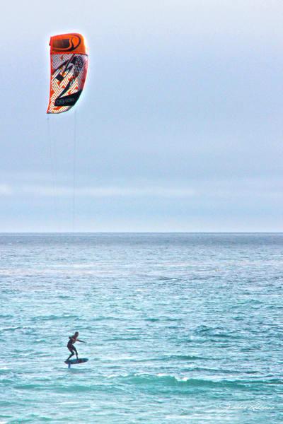 kitesurf, ocean hydrofoil, gravitydefying, surf, ocean, malibu, jackierobbinsstudio, specialprice, photographiccanvasprint