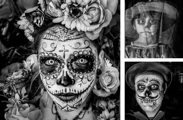 Dia De Los Muertos | Photo Montages Photography Art | Harry John Kerker Photo Artist