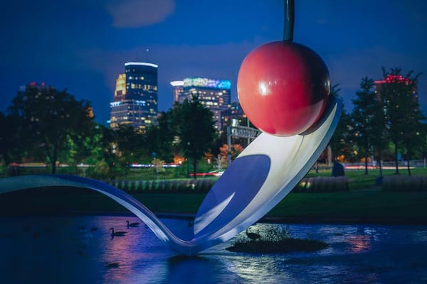 The Cherry And The Spoon 2   Minneapolis Wallpaper Mural Photography Art | William Drew Photography