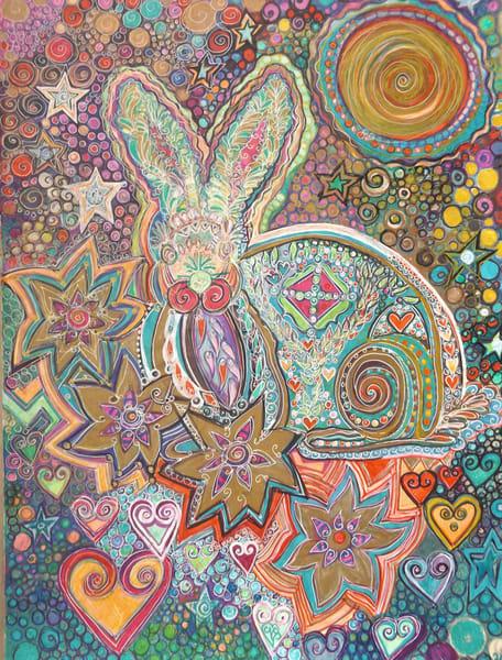 Rabbit's Joy Art   Cynthia Christensen Art