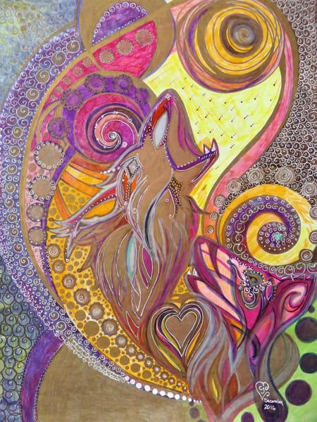 Wolve's Howl Art   Cynthia Christensen Art