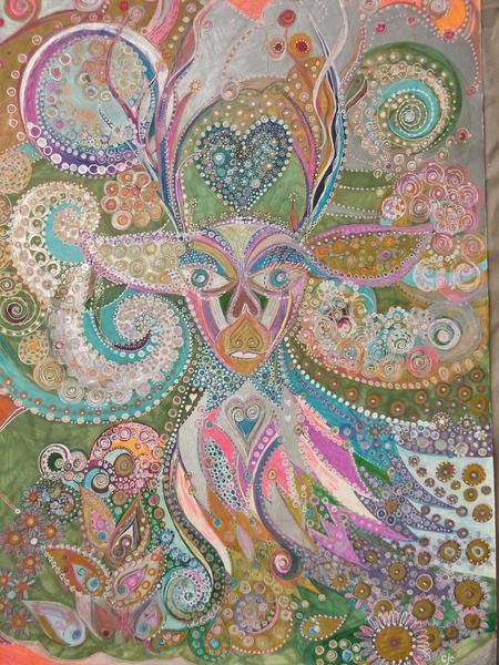Deer's Wonder Art   Cynthia Christensen Art
