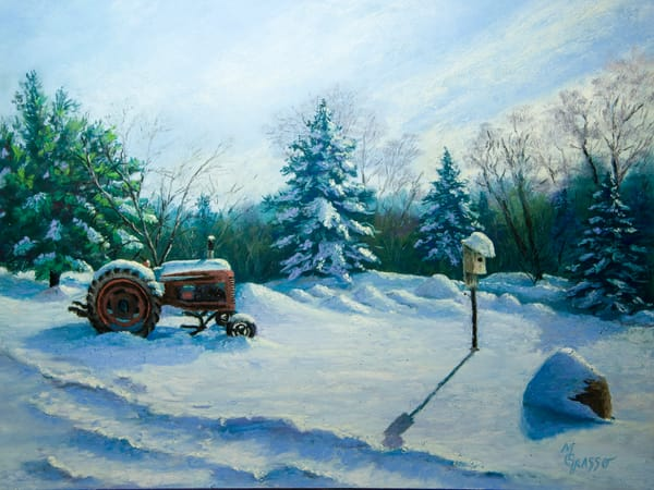 Waiting For Spring Art | Mark Grasso Fine Art
