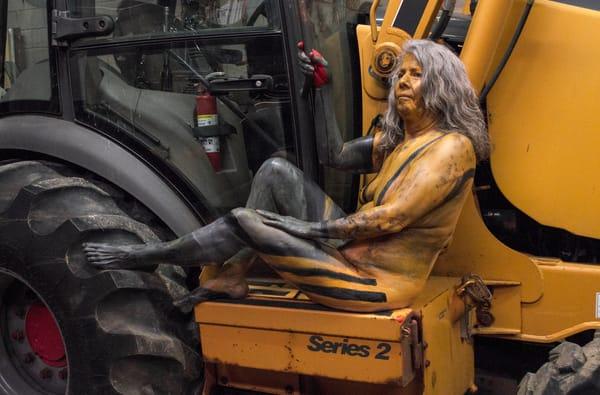 2017 Excavator Massachusetts Art | BODYPAINTOGRAPHY