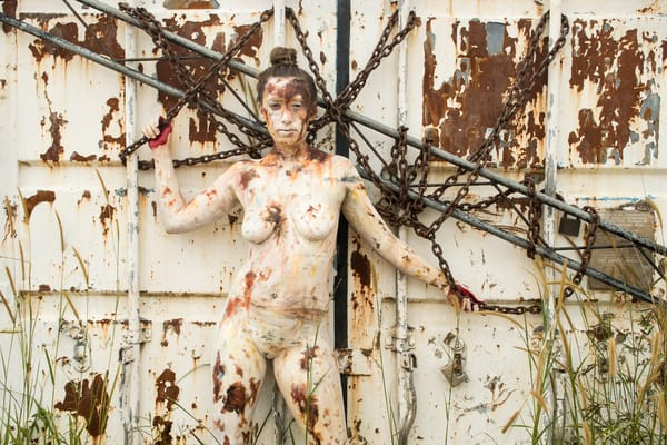 2018  Rusting Container  Sri Lanka Art | BODYPAINTOGRAPHY