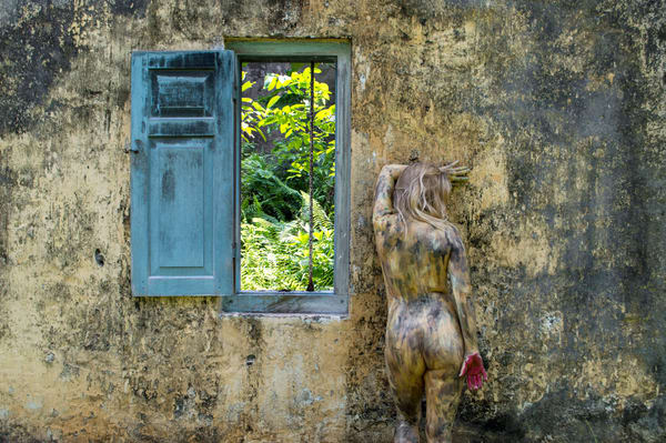 2018  Window  Sri Lanka Art | BODYPAINTOGRAPHY