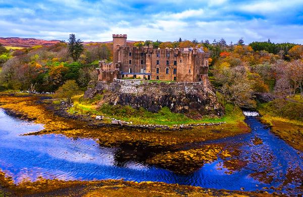 Dunvegan Castle - Scotland Art Print, Christopher Gatelock